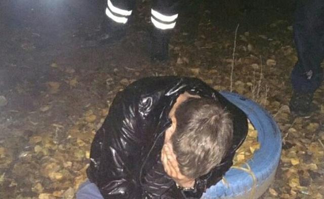Пьяный водитель или идиот года? (4 фото)