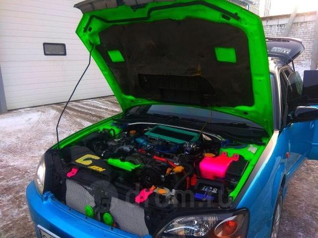 Креативное объявление о продаже подержанного Subaru (3 фото)