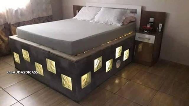 Кровать своими руками (4 фото)