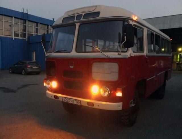 Восстановление полноприводного ПАЗ 3201-С (26 фото)