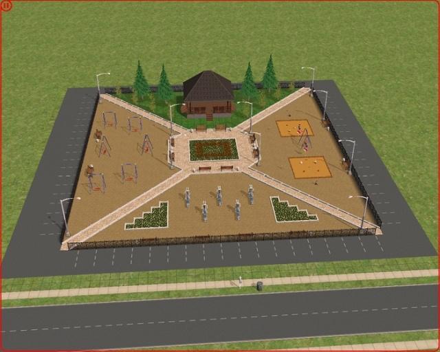 Видеоигра Sims 2 помогает чиновникам Ленинградской области создавать дизайн-проекты (5 фото)