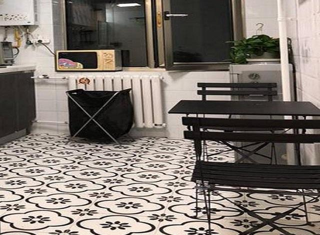 Необычный дизайн квартиры-студии в Пекине (2 фото)