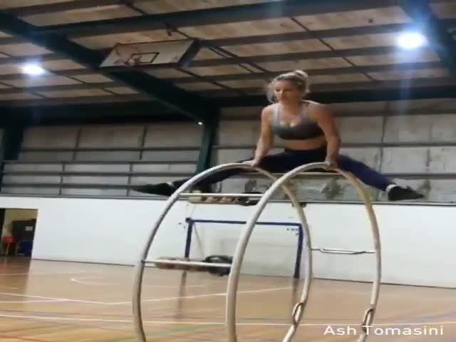 Впечатляющее мастерство использования рейнского колеса