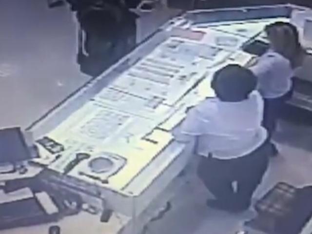 Ограбить ювелирный магазин в Подольске оказалось не так уж и просто
