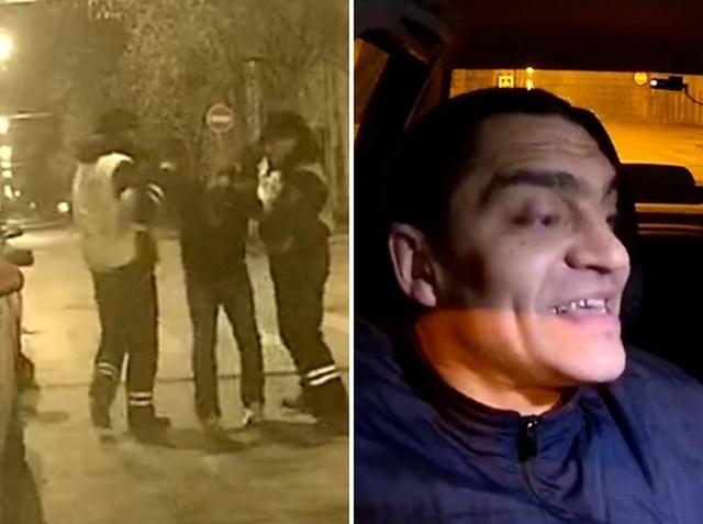 """Мнение """"общественности"""" об активистах, которые способствовали задержанию пьяного таксиста (2 фото + видео)"""
