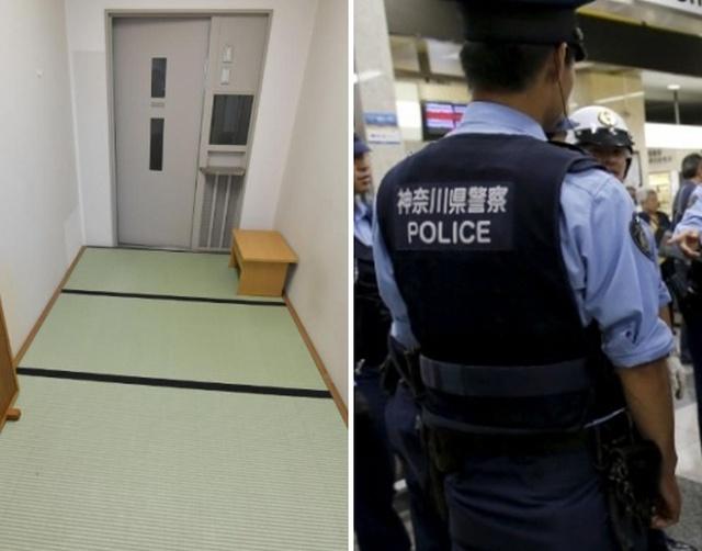 Как выглядит камера в обычной токийской тюрьме (2 фото)