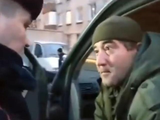 Полиция произвела жесткое задержание сотрудника ЧОП ПИКа