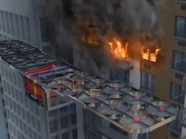 Пожарный дрон из недалекого будущего