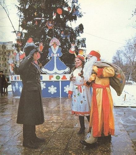 Новый год в Советском Союзе (22 фото)