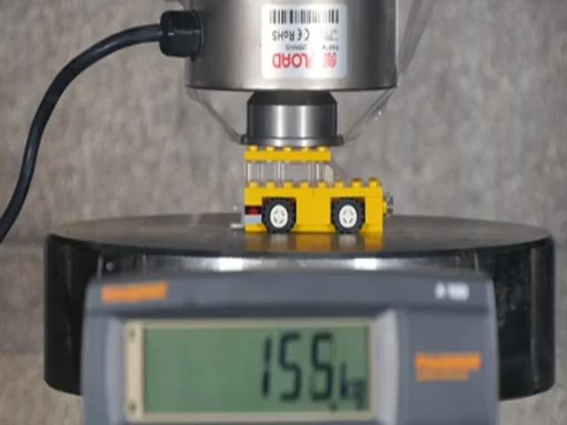 Какую нагрузку может выдержать LEGO?