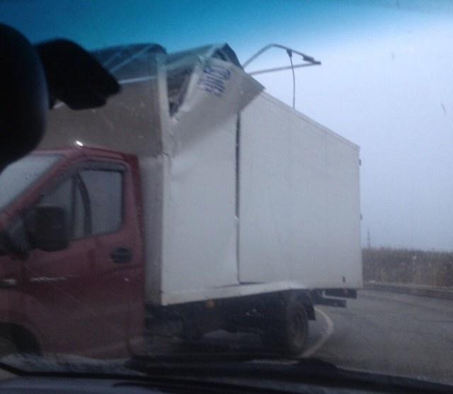 """Мост глупости"" в Санкт-Петербурге отметил свою юбилейную аварию (4 фото)"