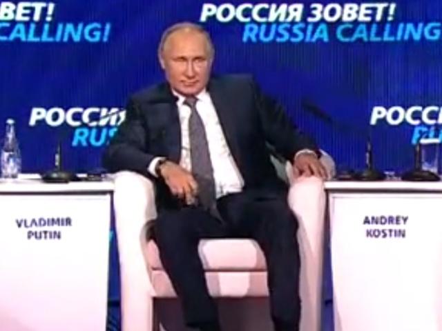"""Владимир Путин: """"Доллар уходит от нас"""""""