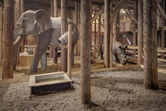 Житель Голландии построил Ноев ковчег и собирается доставить его в Израиль (8 фото)
