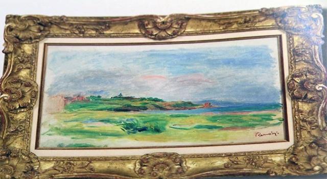 Из аукционного дома Dorotheum была украдена картина Ренуара (2 фото)
