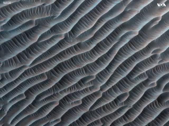 Новый взгляд на поверхность Марса