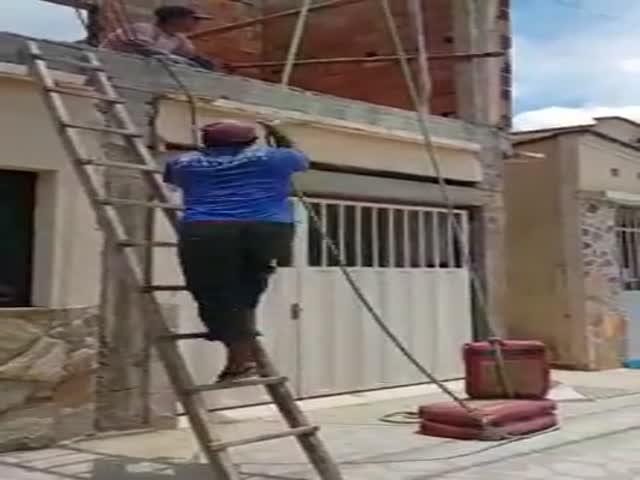 Бразильские рабочие хотели облегчить себе работу, но...