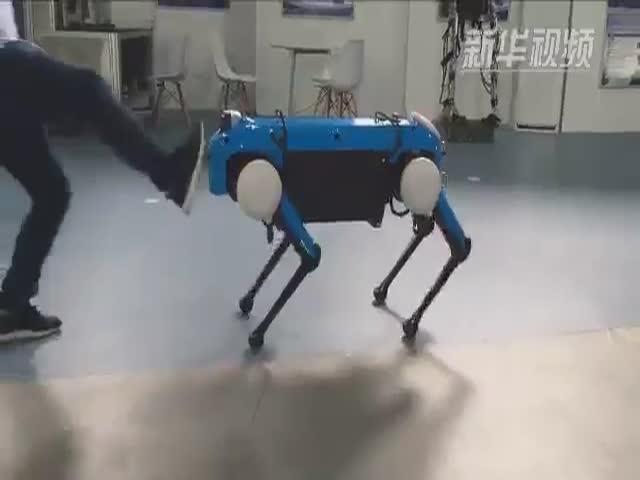 Китайский аналог робота от Boston Dynamics