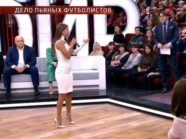 Виктория Боня не сдержала эмоций, обсуждая дело Кокорина и Мамаева