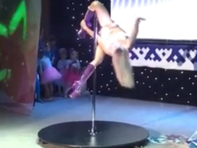 На Ямале участница творческого конкурса показала эротический танец перед детьми
