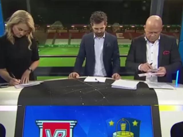 Неожиданный фейл во время прямого эфира