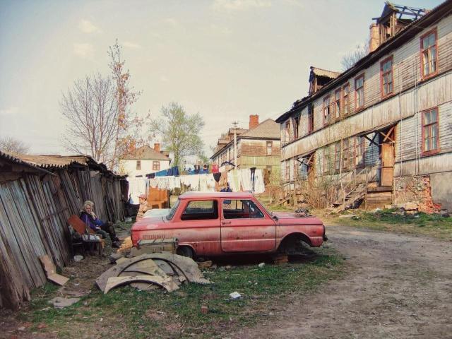 Городские окраины, навевающие тоску (20 фото)