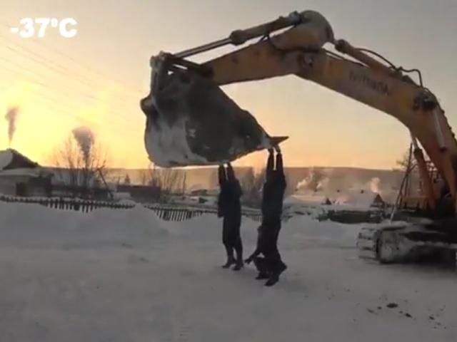 """Суровая красноярская """"карусель"""""""