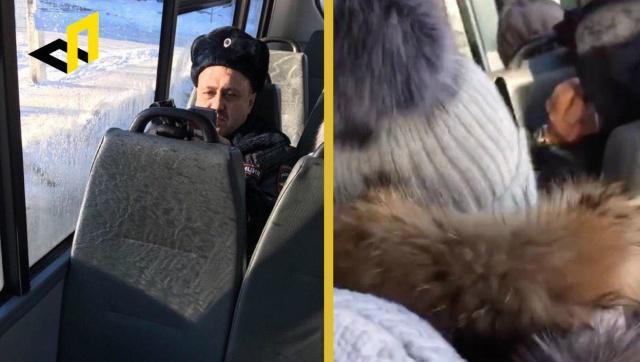 Бийского школьника вызвали на допрос после того, как он снял на видео полицейского в транспорте (фото + видео)