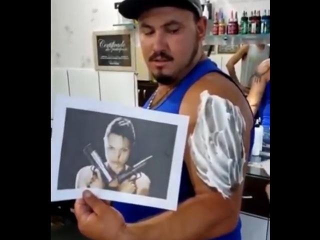 """Рождение """"татуировки-шедевра"""""""