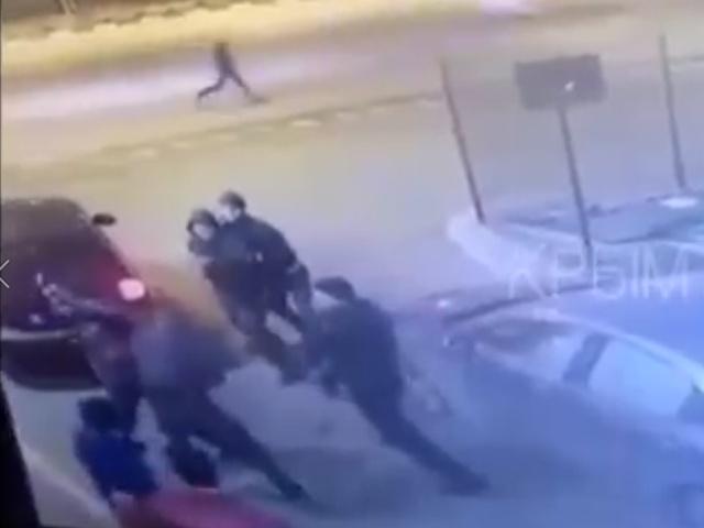 Массовая драка чеченцев с татарами в Симферополе