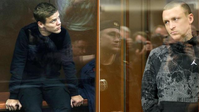 Александр Кокорин и Павел Мамаев сыграют в футбол за команду заключенных (4 фото)