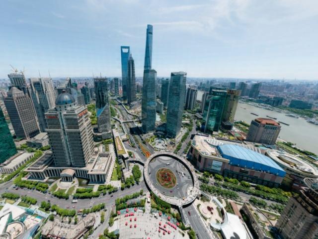 Панорама Шанхая с возможностью невероятного зума (7 фото)