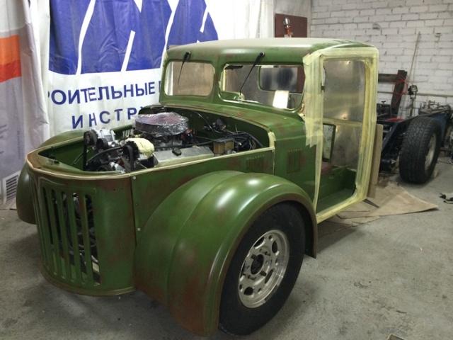 Перевоплощение старого МАЗ-502 в хот-род (14 фото)