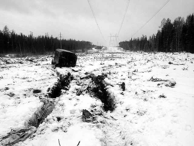 Непростая работа в суровых условиях (21 фото)