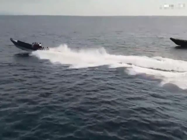 Испанская полиция преследует наркоторговцев