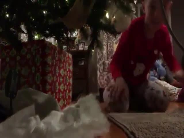 Хотел заснять на скрытую камеру Санта-Клауса