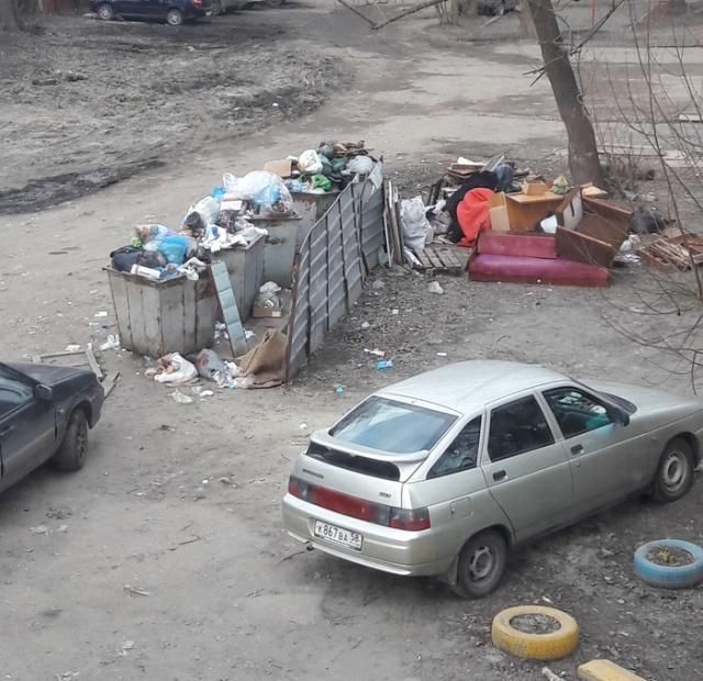 Реакция городских властей на свалку мусора во дворе (5 фото)