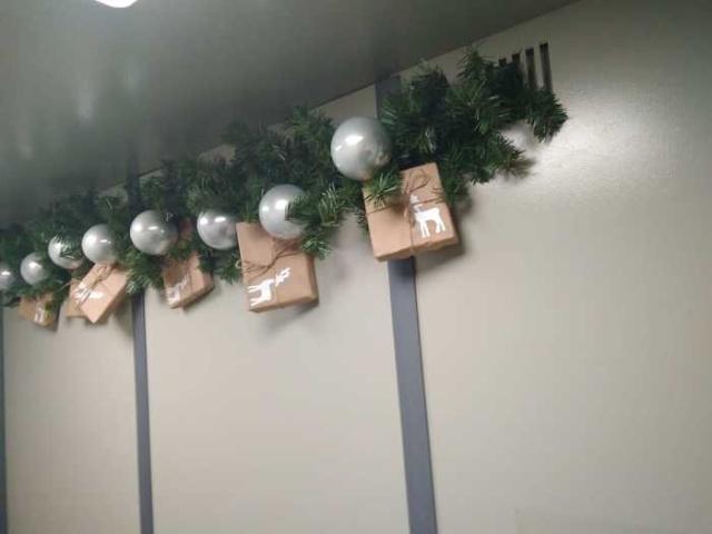 Хорошие соседи, которым удалось создать новогоднее настроение (6 фото)