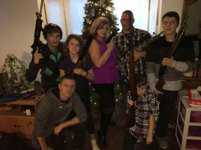 Amerikalılar Noel Hediyeleriyle (15 Fotograf)