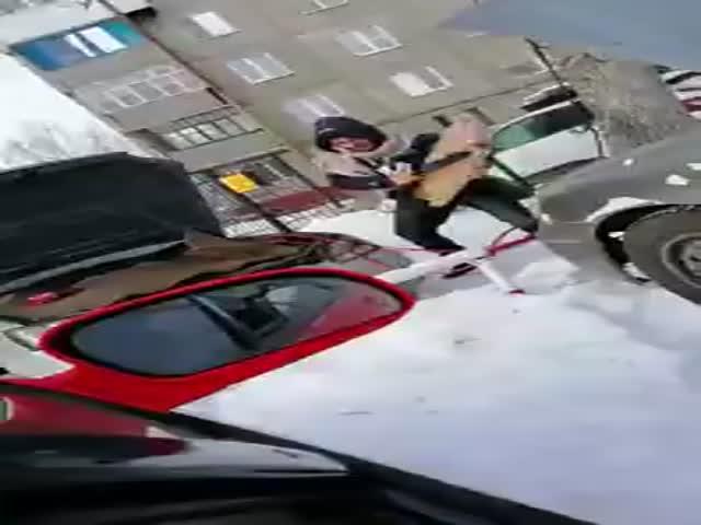 Когда не заводил свой автомобиль в морозы...