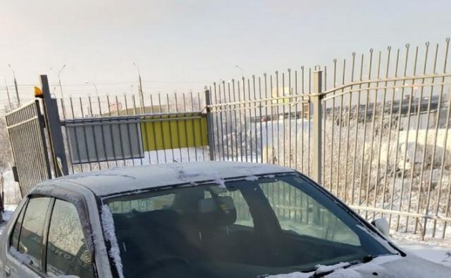 """""""Чёрный воздух"""" в Красноярске (2 фото)"""