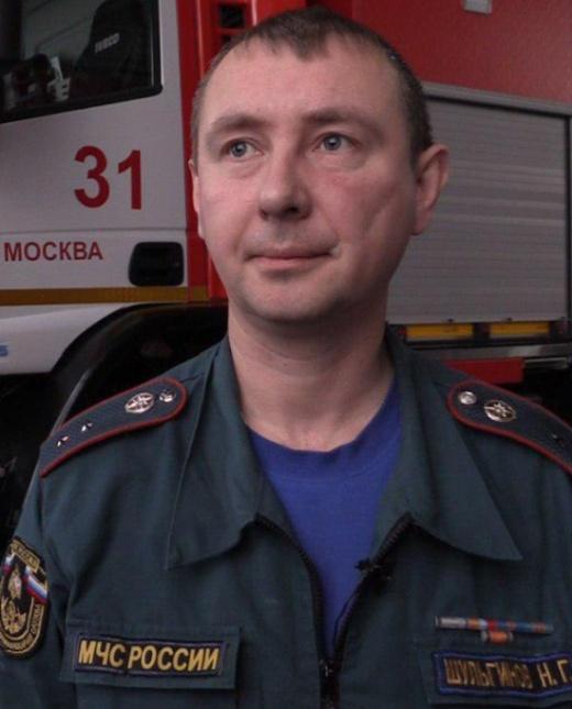 Стойкость и сила духа московского пожарного, достойные уважения