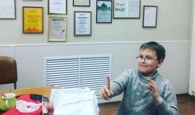 Необычный 10-летний мальчик из Ростова по имени Миша Попов (3 фото + видео)
