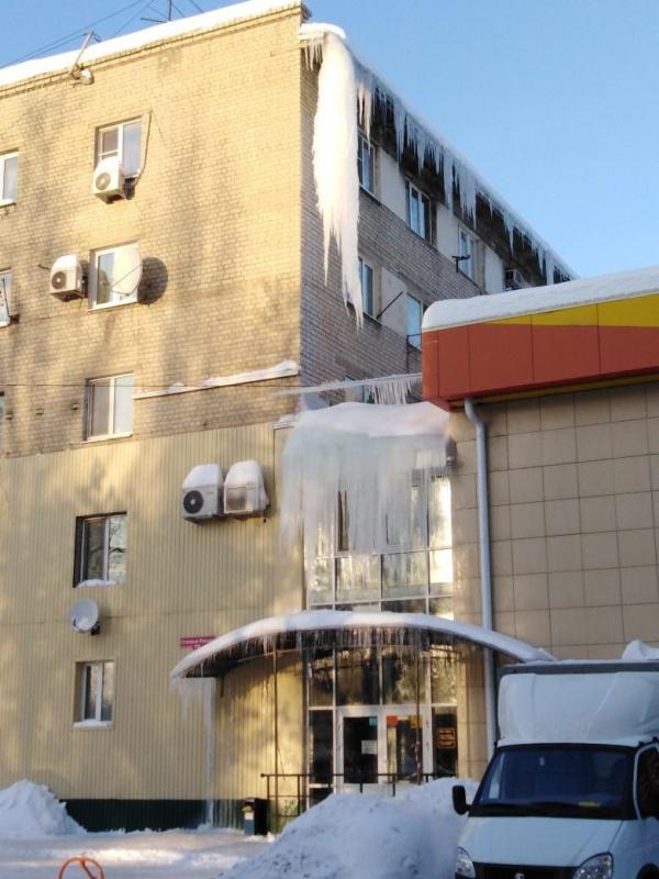 Саратов превратился в город сосулек (7 фото)