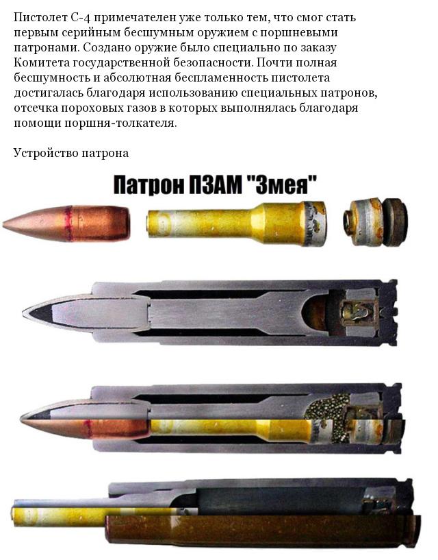 Уникальное оружие КГБ СССР С-4, созданное для агентов разведки (5 фото)
