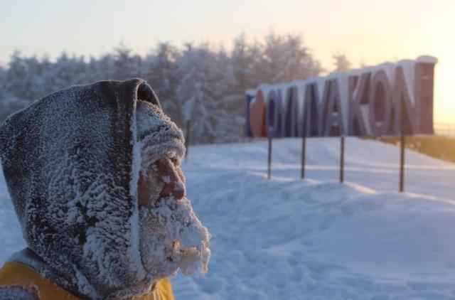 """Экстремальный забег """"Полюс Холода"""" в Оймяконе при температуре в минус 45 градусов (11 фото)"""