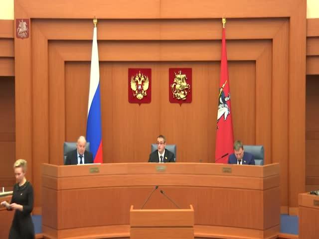 Интересное видео из Мосгордумы о том, как там принимаются законы