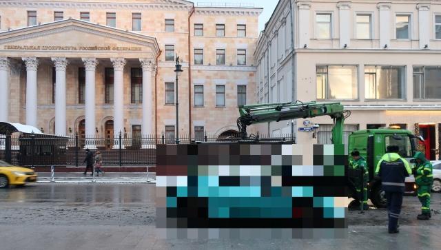 """Необычный """"улов"""" эвакуаторщиков (4 фото)"""