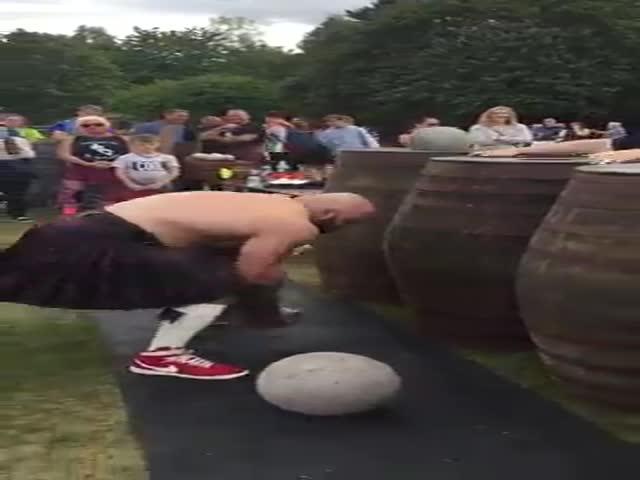 Эндрю Кэрни смог загрузить все девять камней Ардблэра