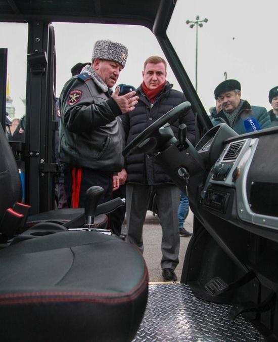 Полицейские электромобили будут патрулировать центр Тулы (6 фото)