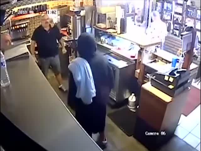 Ограбление мексиканского ресторана пошло не по плану